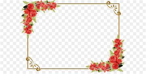 drawing flower clip art red rose border