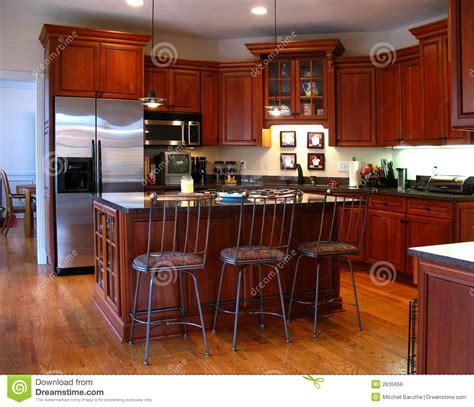 tops kitchen cabinet upscale kitchen horizontal royalty free stock image 2870