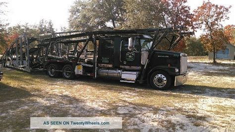 2007 Western Star & Cottrell 4900 Lowmax, 3 Car Rack And