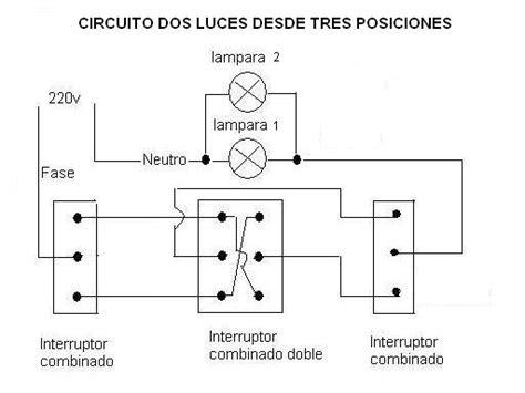 como conectar 3 interruptores a un punto de luz yoreparo