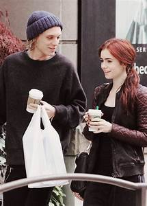 Lily Collins And Jamie Campbell Bower Mortal Instruments ...