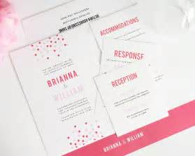 simple wedding programs confetti wedding invitations wedding invitations by shine
