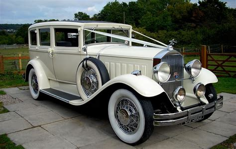 Classic & Vintage Wedding Car Hire In Essex From Classic