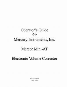 Mini-at Operators Guide