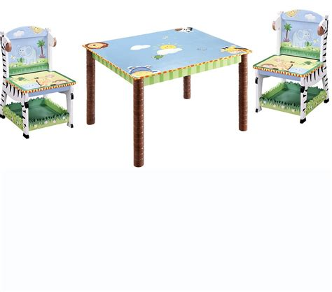 dreamfurniture teamson table and 2 chairs set