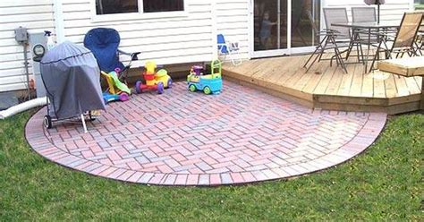 Paver Patio Ideas On A Budget by Patio Ideas On A Budget Paver Patio In Lake Zurich Il