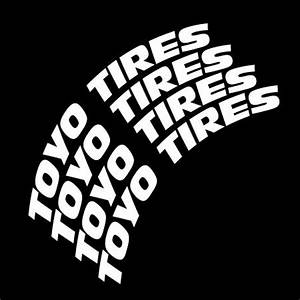 toyo tires tire lettering tire stickers With tire lettering stencils