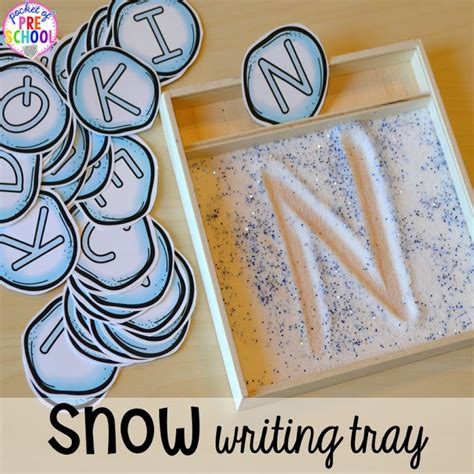 winter themed activities and centers snowman at 701 | Slide5