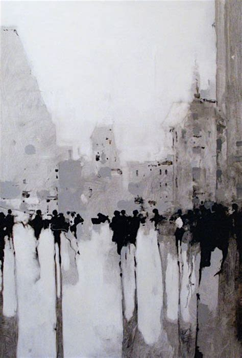 Abstract Black And White Watercolor Painting by Geoffrey Johnson The Of Gray In 2019