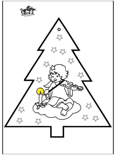 Kerstman En Kerstboom Kleurplaat by Prikkaart Kerstboom 2 Kleurplaten Kerst