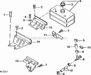 John Deere 1032 Snowblower Parts Diagram