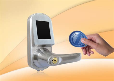 nfc door lock rfid card door lock with mobile phone card mechanical