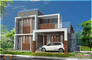 small contemporary house plans small storied contemporary house plan indian