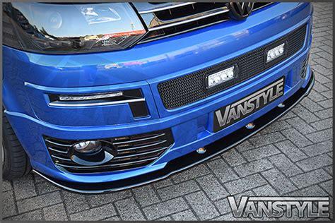 vw transporter t5 lower sportline front splitter spoiler bumper lip t5 1 add on ebay