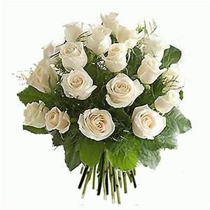 Bouquet Fleurs Blanches : livraison fleurs bouquet de roses blanches floraclic ~ Premium-room.com Idées de Décoration