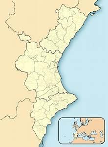 Archivo Comunidad Valenciana-loc Svg