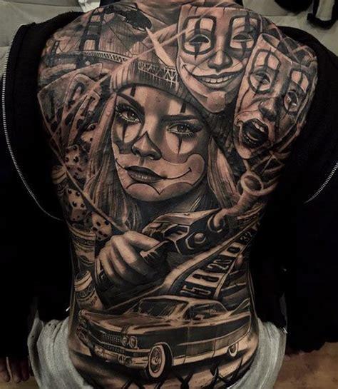 tattoos  men gangster tattoos tattoos