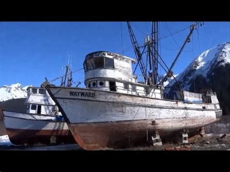 Old Boat Dock by Old Fishing Boats In Dry Dock Youtube