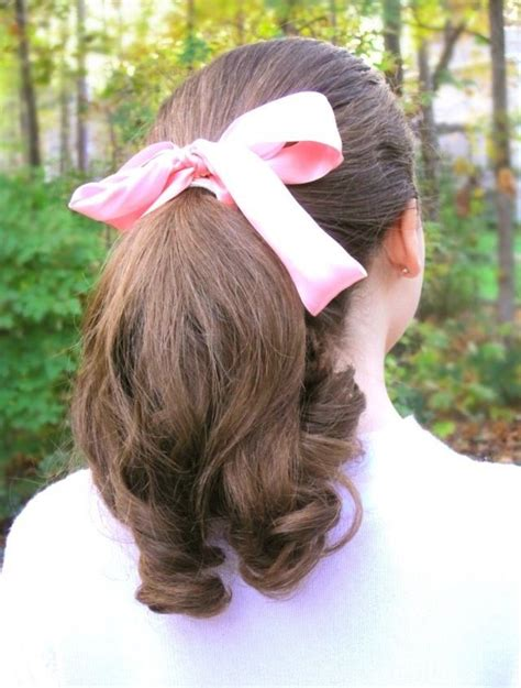 50s Ponytail Hairstyles by My 1950s Style Pin Curled Ponytail Costumes Hair