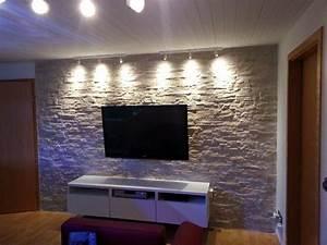 Wand Mit Steinen : wand in steinoptik gestalten verschiedene ~ Michelbontemps.com Haus und Dekorationen