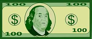 100 Dollar Bill Clip Art - ClipArt Best