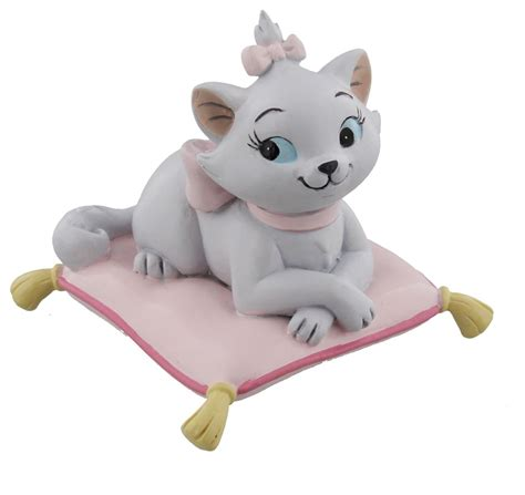 Disney Figurine Gift Magical Moments Aristocats Marie on Pillow Ornament Little Princess