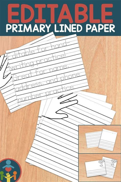 kindergarten primary lined paper print writing paper
