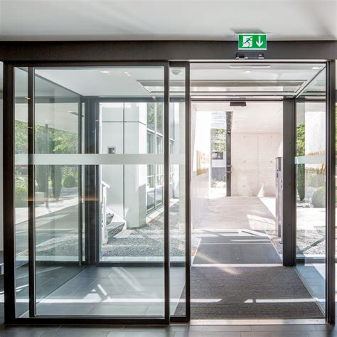 Sliding Entrance Doors by Dorma St Flex Secure Sliding Door With Anti Intruder