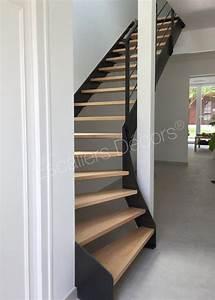 Escalier 1 4 Tournant Droit : escalier droit ou 1 4 tournant contemporain escaliers d cors ~ Dallasstarsshop.com Idées de Décoration
