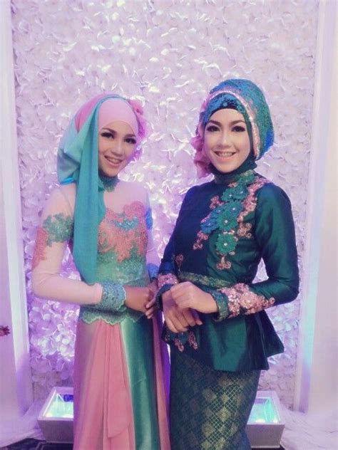 gaun muslim pesta images  pinterest dress