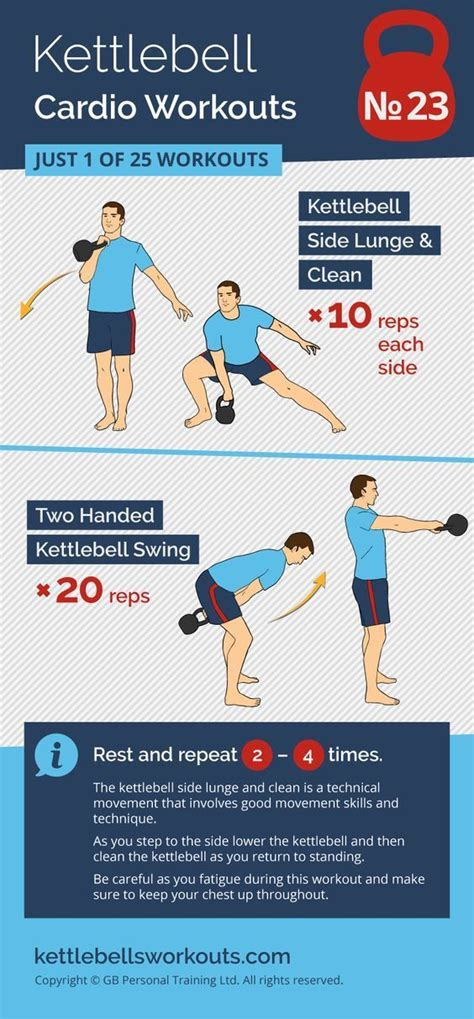 cardio kettlebell training