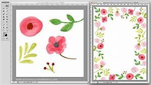 behind the scenes look at creating watercolor wedding With watercolor wedding invitations photoshop