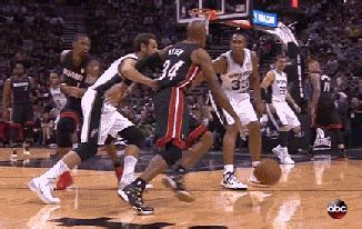 ray allen fakes   players  hits  pointer