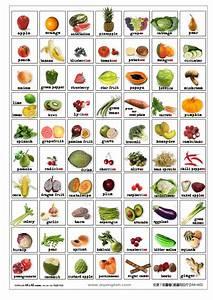 Free Printable Fruit Vegetable Bingo | FREE ENGLISH FLASH ...