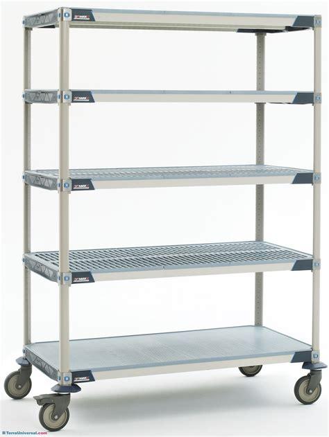 Cart 24w X 36d X 79h Metromax I Solid Bottom Shelf