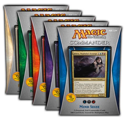 magic commander 5 brand new decks phd games