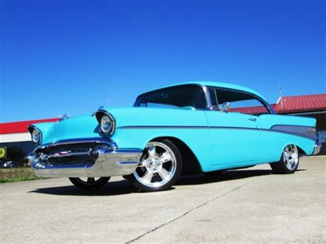 turquoise chevy bel air  sale  technical