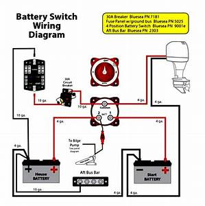 Three Battery Selector Switch Wiring Diagram