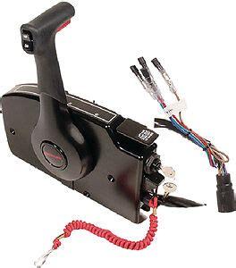 mercury side mount remote w tilt trim w 15 ft harness 881170a15 ebay