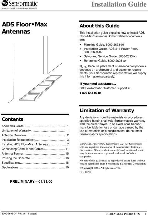 Get Sensormatic Wiring Diagram Download