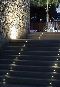 Astonishing step lighting ideas for outdoor space