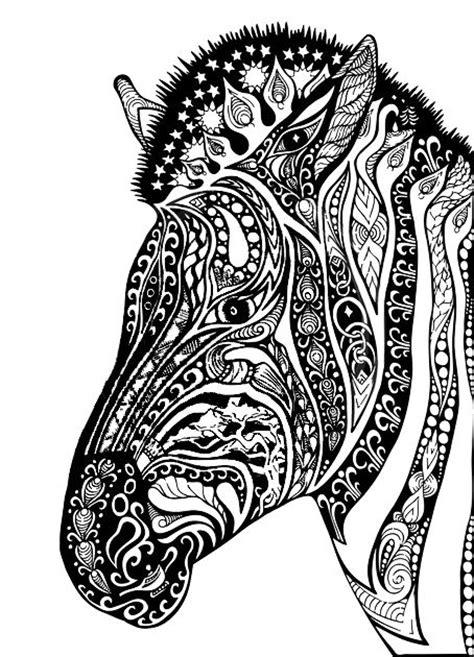 adult coloring pages zebra colorear pinterest coloring mandalas  adult coloring pages