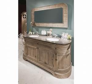 Meuble Vasque Retro : meubles salle de bain retro ~ Teatrodelosmanantiales.com Idées de Décoration