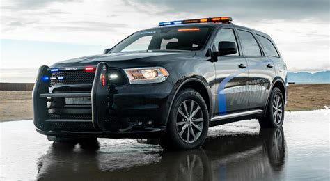 2019 Dodge Durango Pursuit Suv Testing  Law Officer