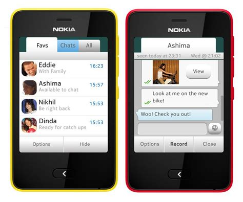 whatsapp for nokia asha 501 now available through software update phonebunch