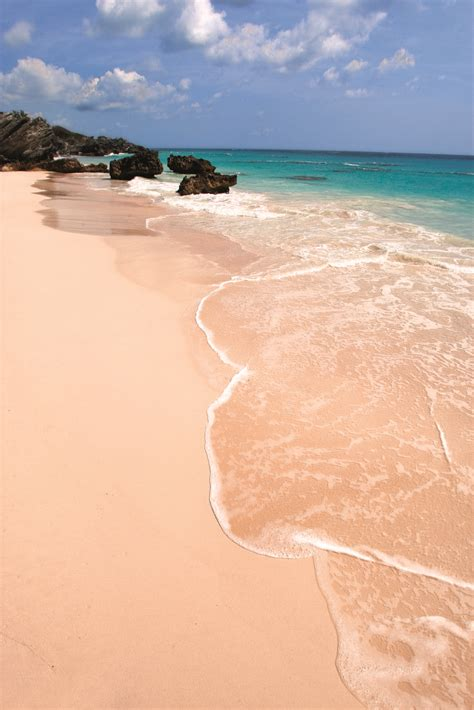 Bermudas Pink Sand Beaches And Turquoise Waters Are Some