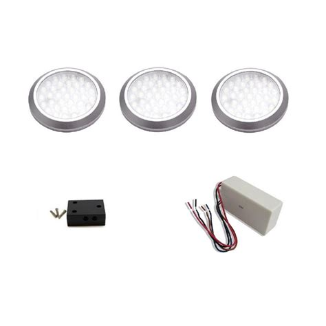 ge enbrighten led puck lights puck lights led white puck light with remote 6pack 50x