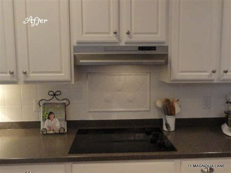 how to do a backsplash in the kitchen kitchen makeover part 2 by at 11 magnolia 9730
