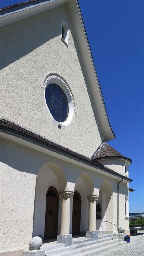 Portal Zum Erhalt Kirchen Nrws by Malergesch 228 Ft Beat Gut Kirche Richterswil Aussen