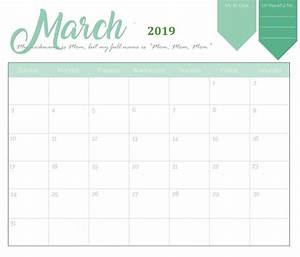 Monthly 2019 Holidays Calendar Templates
